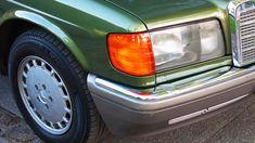 w126 Mercedes-Benz 500 SE rare Cypress Green Metallic paint S class 1986 Mercedes W126, Mercedes Benz 500, Green Metallic Paint, S Class, Classic Cars