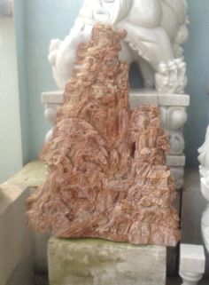 landscape in red marble.  Pls contact danang.marble@gmail.com or danangmarble.com.vn for order or more information.