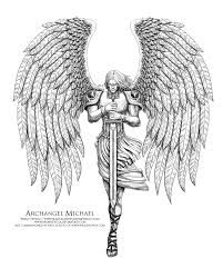 saint michael drawing - Google Search