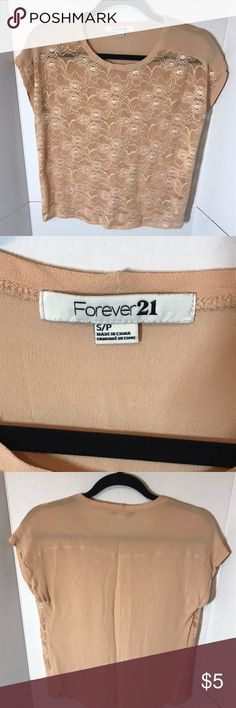 Dressy Top This top is great for a night out or even if you need to stress up! Forever 21 Tops Tees - Short Sleeve