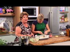 Chocolate and Coconut Slice with Crunchy Hazelnut Swirl video - Everyday Gourmet with Justine Schofield