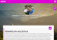 Norma de los Ángeles Martínez Toro Terapeuta Holística