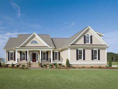 Country House Plan with 1882 Square Feet and 3 Bedrooms(s) from Dream Home Source   House Plan Code DHSW14784