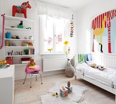 Fun and colourful Kids Room