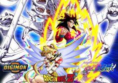 Los tres mejores anime  #dragonball #anime #akibakei #dragonballz #SailorMoon #Digimon Akiba Kei, Digimon, Dragon Ball Z, Sailor Moon, Anime, Art, Dragon Dall Z, Art Background, Kunst