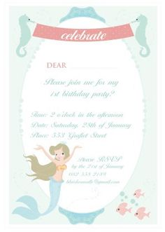 mermaid party paper products