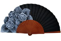 Abanico Espinas I | 50€ Decoupage, Chinese Fans, Beat The Heat, Hand Fans, Design Art, Fancy, Andalucia, Painting, Accessories