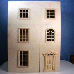 How To Build A Front Opening Dolls House Or Dollhouse Bookcase
