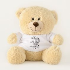 Personalised Memorial Keepsake Angel Teddy Bear Add Own Message Auntie Uncle Nan