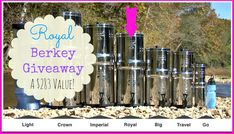 You did know we're GIVING AWAY a $283 Royal Berkey Water Filter right!?!?