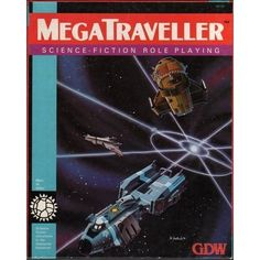 MegaTraveller RPG--we used this to play a Blake's 7-type game in high school.