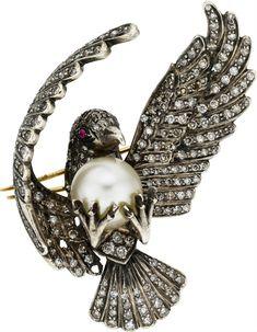 DIAMOND PEARL BIRD