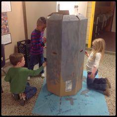 Inquiring Minds: Mrs. Myers' Kindergarten: Investigating Castles: Part 1