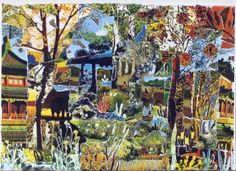 "Saatchi Art Artist lucia lage; Collage, ""Nem aqui nem na China (nowhere)"" #art"