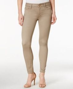 Dl 1961 Margaux Beech Wash Cropped Skinny Jeans - Tan/Beige 30