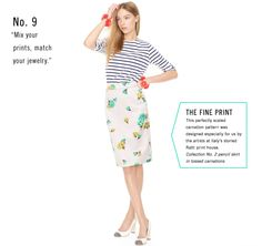 Mix your prints, match your jewelry. Women's Clothing - Looks We Love - J.Crew
