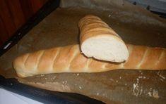 Domácí bagety | NejRecept.cz Ciabatta, 20 Min, Hot Dog Buns, Graham, Dairy, Bread, Cheese, Recipes, Food