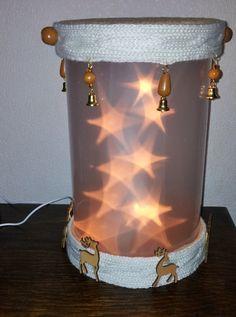 staand lantaarn om zelf te maken met sterren folie