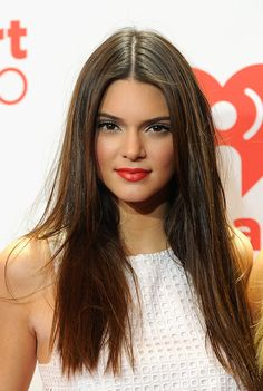 Kendall Jenner's gorgeous red lip
