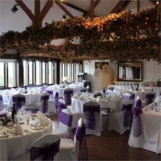 Carolyn and Stephen's lilac themed wedding #hitchedrealwedding