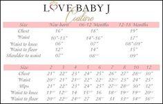 Measuring for your Love Baby J original design.