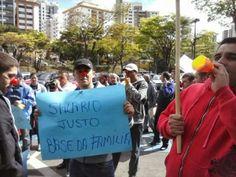 AGENTES DA GUARDA CIVIL DE SANTO ANDRÉ REALIZAM PROTESTO DEVIDO AO PÉSSIMO SALÁRIO  http://www.policiamunicipaldobrasil.com/index.php?pg=3&sub=5982