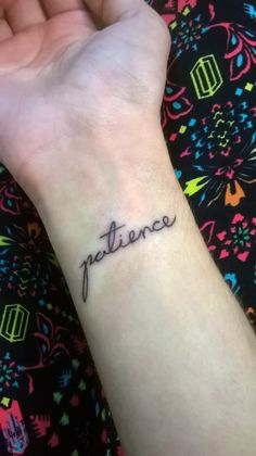 Patience Tattoo - Guns N' Roses ♥