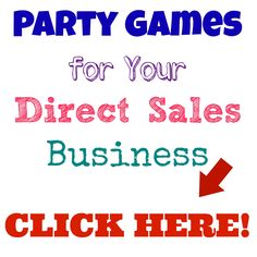 Party Games for Your Direct Sales Business