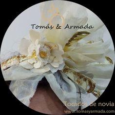 Detalle tocado novia vintage Templates, Bridal Headpieces, Events, Grooms