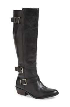 Free shipping and returns on DV by Dolce Vita 'Cambridge' Tall Boot (Women) at Nordstrom.com. Roughed-out leather brings rich, vintage texture to a tall riding boot styled with a wraparound ankle belt.