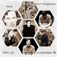 Benedict Cumberbatch out magazine photoshoot
