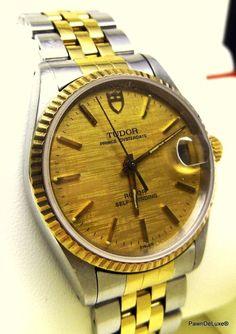 Catawiki online auction house: Rolex Tudor 25 Jewels Oysterdate Bezel Setting…