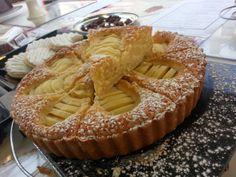 Delicate #Pear #Vanilla #Almond #Frangipane Apple Pie, Pear, Almond, Vanilla, Delicate, Homemade, Touch, Pure Products, Chocolate