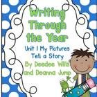 Writing Through the Year Units 1-4 Bundled {Aligned with Common Core} - Writer's Workshop is a wonderful way to incorporate all of the ELA standards while introducing your students to the love of writing. This best prac...