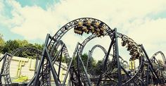 Smiler - Alton Tower - UK - RECORD 14 inversions - (2013) - Steel Coaster