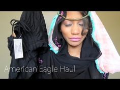 ▶ American Eagle Haul + 3 Ways To Style Your Scarves (Hijabs) - YouTube