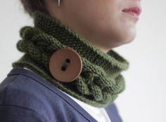 Knit headband for women knit ear warmer and Cowl by SENNURSASA, $21.00