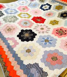 Patchwork quilt by Jonquin
