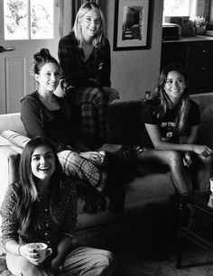 Lucy, Troian, Ashley and Shay