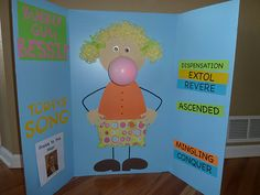 Bubble Gum Bessie - the size of the bubble increases as the kids sing better!