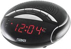 Naxa - Digital Alarm Clock with AM/FM Radio