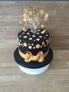 21+ Elegant Picture of Black Birthday Cake Black Birthday Cake Black And Gold Cake Cakes Pinterest Cake Birthday Cake Y 60th  #DiyBirthdayCake Black And Gold Birthday Cake, Golden Birthday Cakes, Black And Gold Cake, 70th Birthday Cake, Cool Birthday Cakes, 50th Cake, Birthday Ideas, Birthday Cards, Happy Birthday