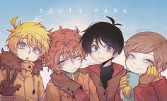 The Boys ~ anime style