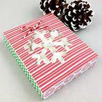 Treat Box-Snowflake Free printable print and cut download