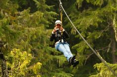 Travel around with me while I hang in a zipline and still take photographs:)