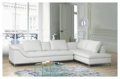 Exclusive All Real Leather Sectional