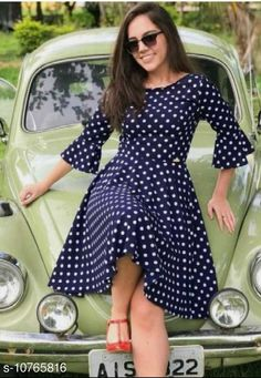Dresses Classy Fabulous Women Dresses Fabric: Crepe Sleeve Length: Three-Quarter Sleeves Pattern: Printed Multipack: 1 Sizes: S (Bust Size: 36 in Length Size: 41 in)  XL (Bust Size: 42 in Length Size: 41 in)  L (Bust Size: 40 in Length Size: 41 in)  M (Bust Size: 38 in Length Size: 41 in)  XXL (Bust Size: 44 in Length Size: 41 in) Country of Origin: India Sizes Available: S, M, L, XL, XXL *Proof of Safe Delivery! Click to know on Safety Standards of Delivery Partners- https://ltl.sh/y_nZrAV3  Catalog Rating: ★3.9 (504)  Catalog Name: ☄️Classy Modern Women Dresses CatalogID_1981127 C79-SC1025 Code: 443-10765816-