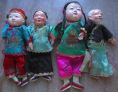 All dolls wear elaborate embroidered silk clothing with some dolls having pierced nostrils and ears. | eBay!