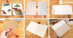 Simple and Creative Ideas for Recycling Cereal Boxes! - One Good Thing by JilleePinterestFacebookPinterestFacebookPrintFriendlyPinterestFacebook