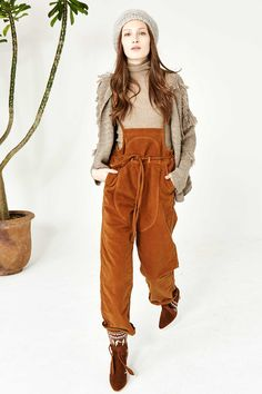 Nadia Overall | Ulla Johnson | my new favorite designer and I must own these overalls